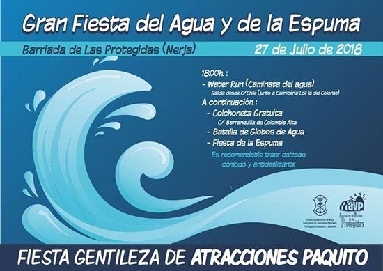Nerja Fiesta del Agua y Espuma 2018