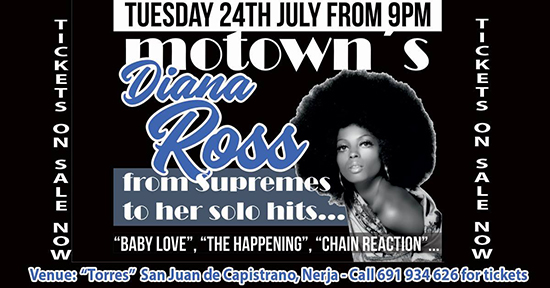 Nerja Torres bar Diana Ross