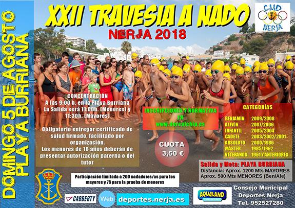 Nerja Zwemwedstrijden Burriana 2018