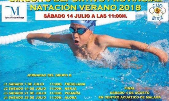 Nerja zwemwedstrijden zomer 2018