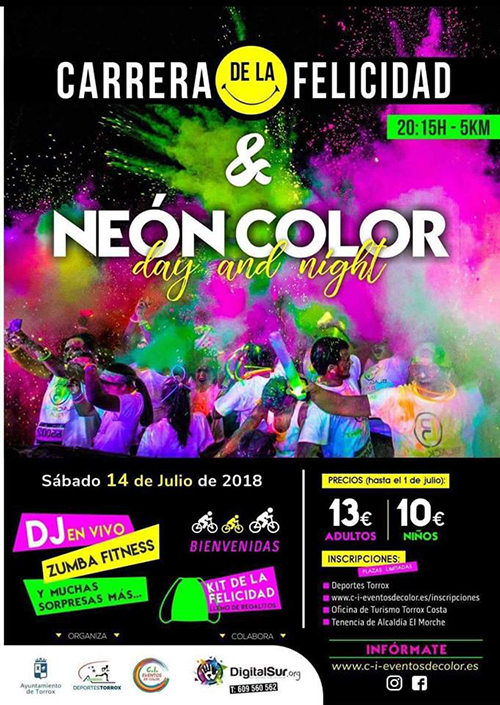 Torrox Colour Run 2018