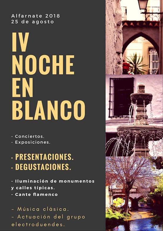 Alfarnate Noche en Blanco 2018