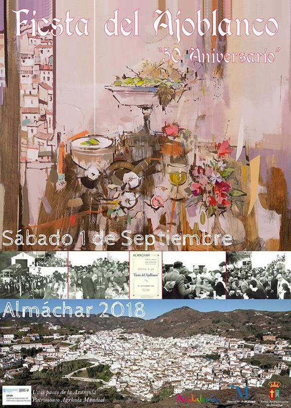 Almachar Fiesta del Ajoblanco 2018