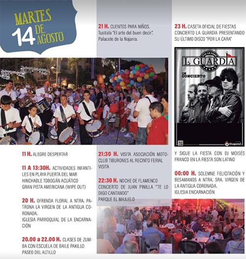 Almunecar Fiesta de Patronales 2018
