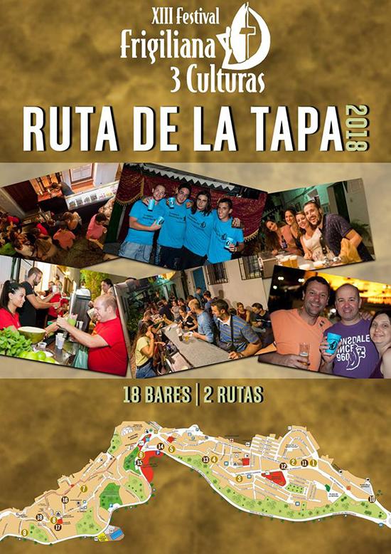 Frigiliana Tres Culturas Tapasroutes 2018