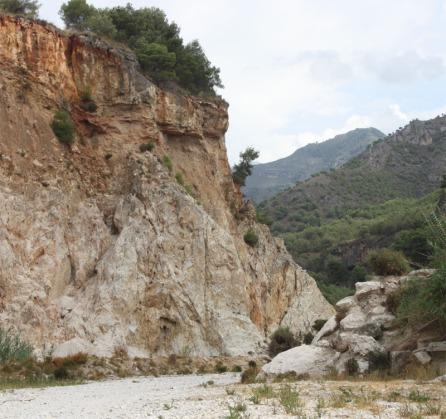 Natuur rond Rio Chillar