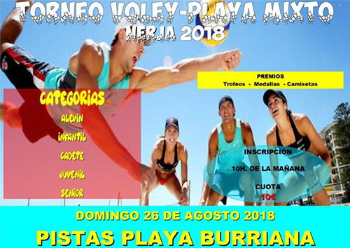 Nerja Burriana Volleybal 20180823