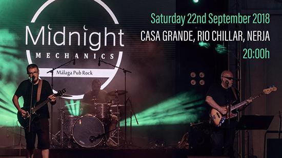 Nerja Casa Grande Midnight Mechanics