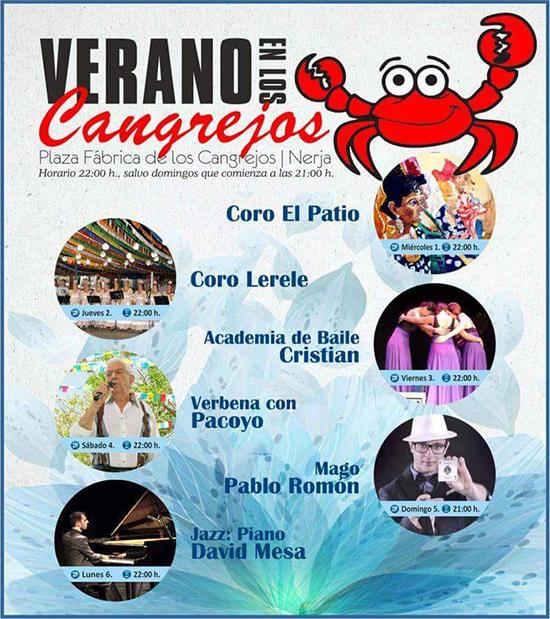 Nerja Verano en Cangrejos 20180803