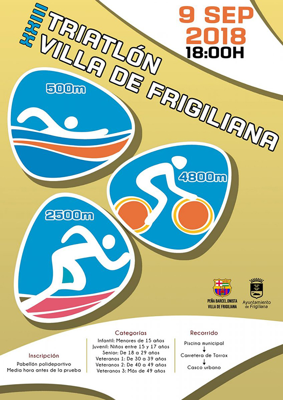 Frigiliana triatlon 2018