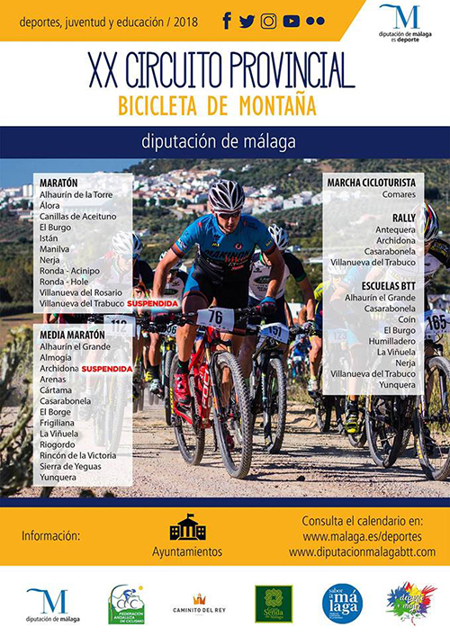 Nerja Bicicleta de Montana 201809