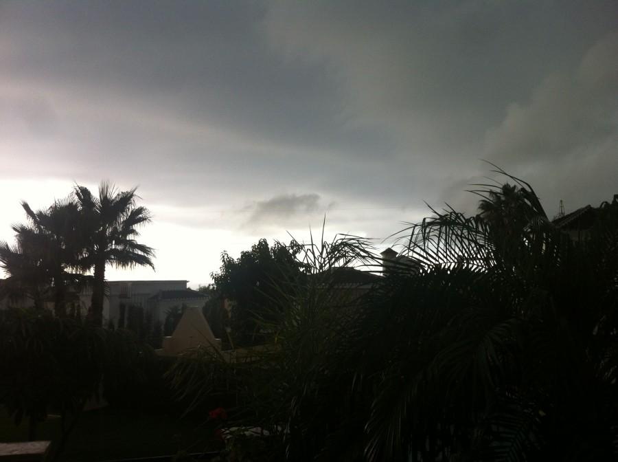 Nerja regen september