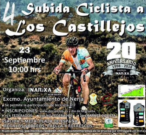 Nerja Subida Ciclista Castillejos