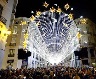 Malaga Kerstverlichting 20171103
