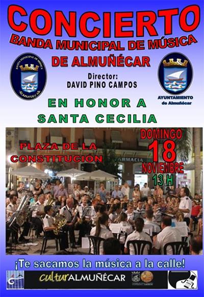 Almunecar Concierto StaCaecilia 2018