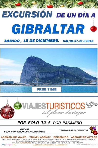 Nerja Gibraltar Excursie