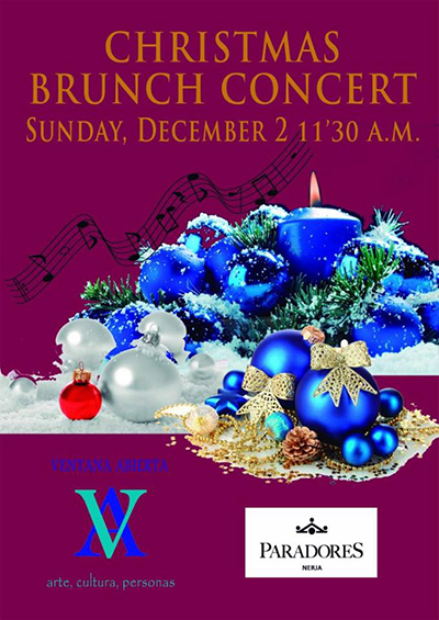 Nerja Paradores Ventana Abierta Christmas Brunch Concert