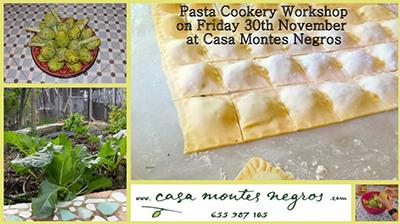 Trapiche Montes Negres Pasta kookworkshop