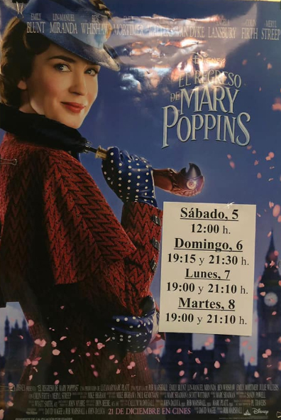 Nerja CCN Film Mary Poppins Returns