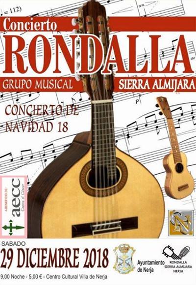Nerja Concierto Rondalla 2018
