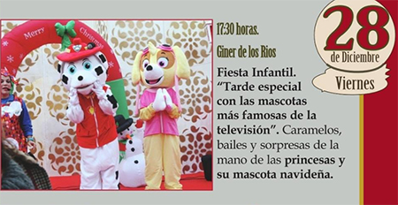 Nerja Fiesta Infantil Navidad 2018