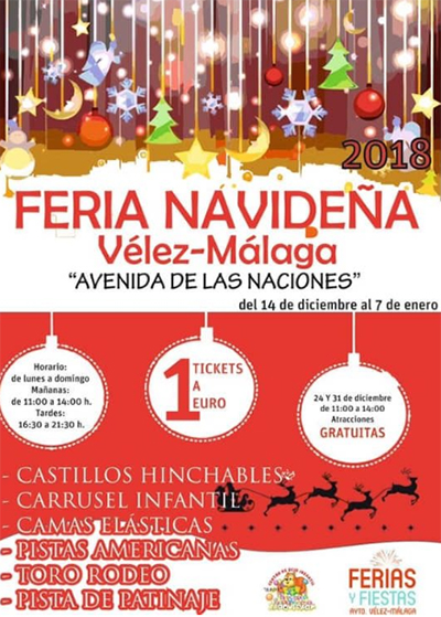 Velez Feria Navidena 2018