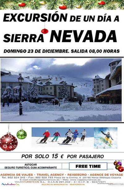 excursie Sierra Nevada