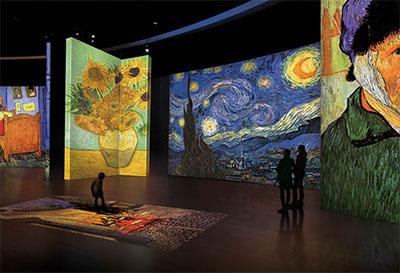 Malaga Expo Van Gogh