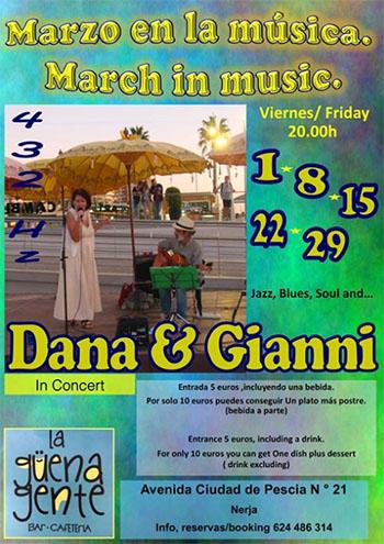 Nerja Guena Gente Dana and Gianni