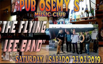 Frigiliana Osemy Flying Lee Band