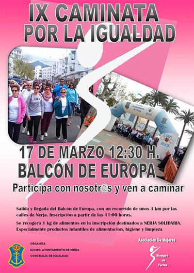 Nerja Caminata Igualdad 2019