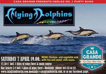 Nerja Casagrande Flying Dolphins 20190401