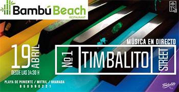 Motril Bambu Beach Timbalito Street
