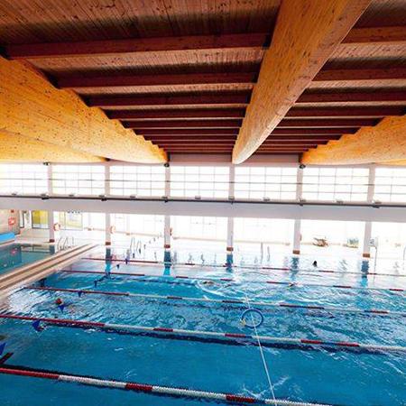 Nerja zwembad dak