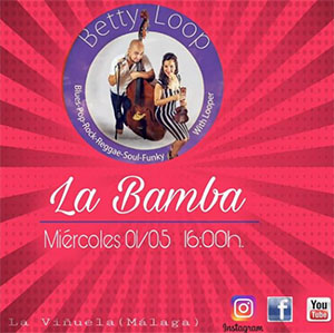 Vinuela La Bamba Betty Loop