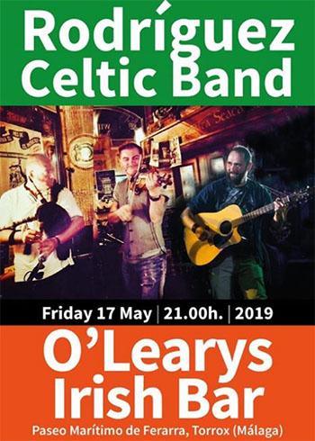 Torrox OLearys Rodriguez Celtic Band
