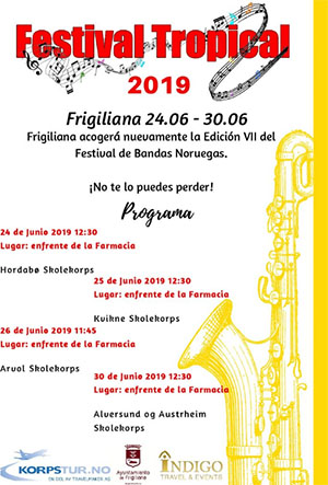 Frigiliana Festival Tropical 2019