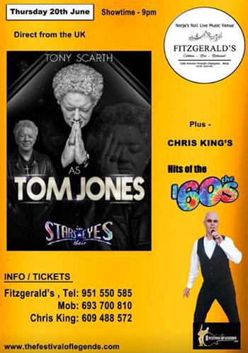 Nerja Fitzgeralds Tom Jones Tribute