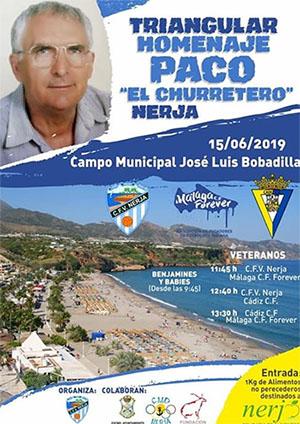 Nerja Voetbal Paco 2019