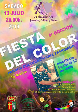 Almachar Fiesta del color