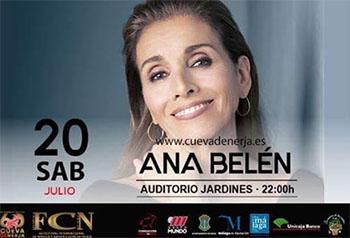 Nerja Cuevas Jubileumfestival Ana Belen