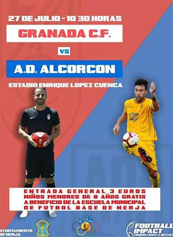 Nerja Voetbal GranadaAlcorcon