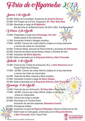 Algarrobo Feria 2019