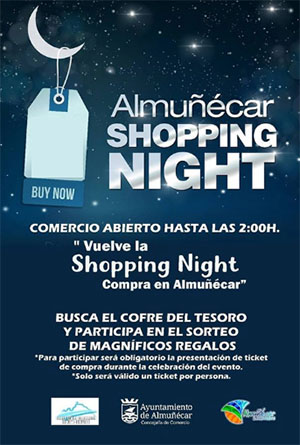 Almunecar Shopping Nights 2019