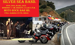 Cantarrijan Moto Rock Bar Silver Sea