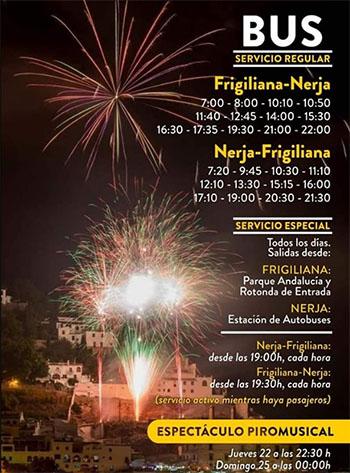 Frigiliana Tres Culturas 2019 bus