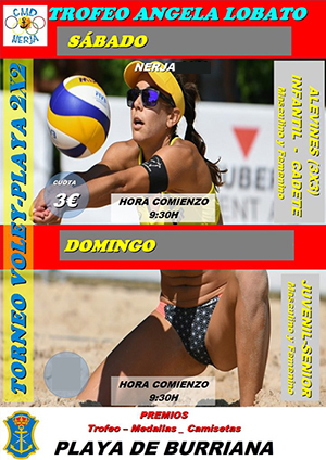 Nerja Burriana Volleybal Angela Lobato