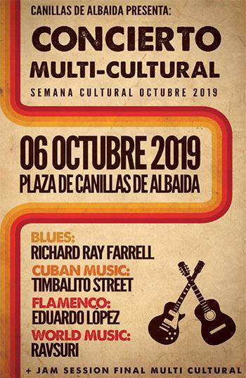 Canillas de Albeida Multicultureel concert 2019