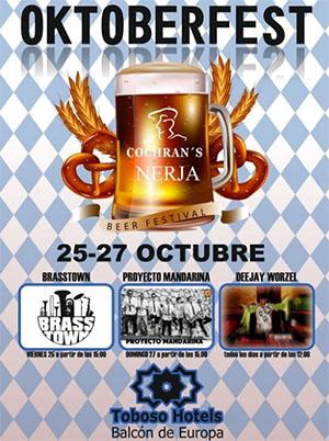 Nerja Cochrans Oktoberfest 2019