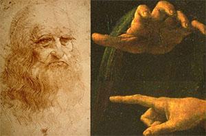 Nerja CCN Lezing Hands of Leonardo da Vinci